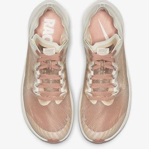 Barely worn, Nike Zoom Fly Transparent Runners
